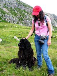 me and my friend in Val di...