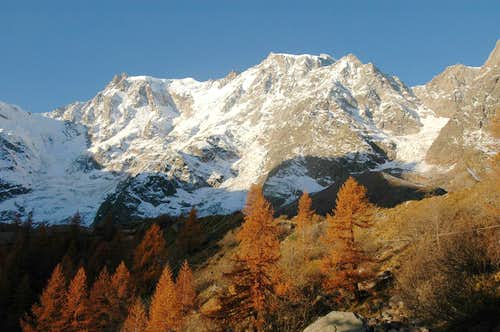 Monte Rosa east side at...