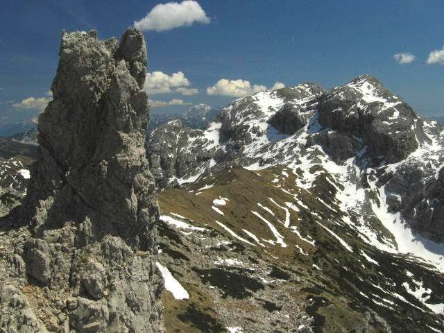 Monte Cavallo / Rosskofel from the NW