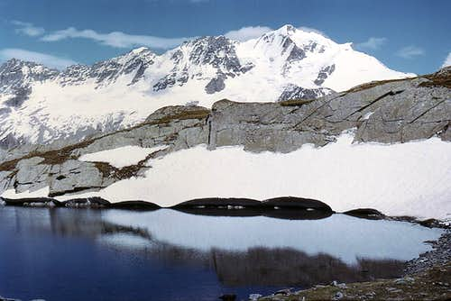 Western side of Gran Paradiso range