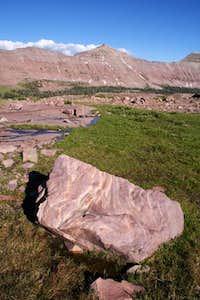 Explorer Peak viewed from the...
