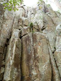 Cliffs at Frog Buttress -...