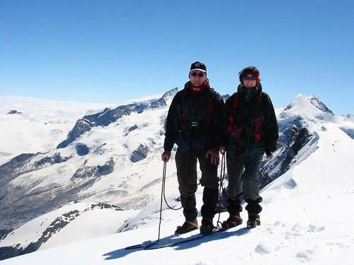 Summit of Breithorn; right...
