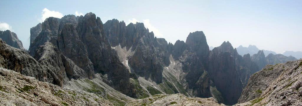 Cime del Marmor (2698m) vor...