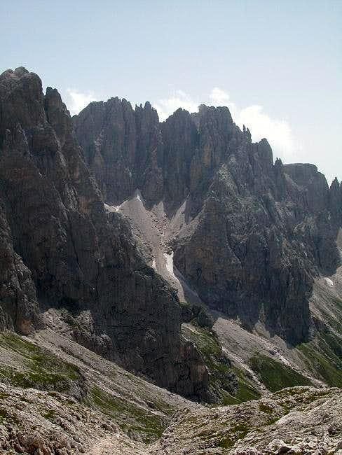 Cime Vani Alti (2690m) as...