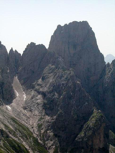 Cima Santa Anna (2461m) in...