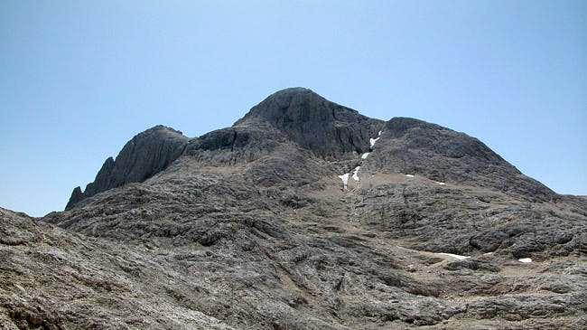 Cima Manstorna (2816m), July...