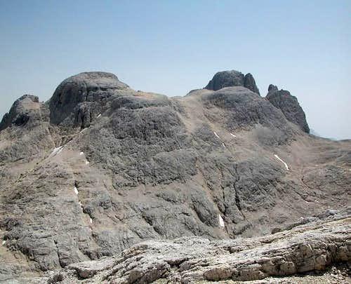 Sass de le Caure (2762m),...
