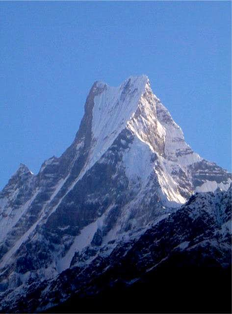 Machapuchare, the fishtail