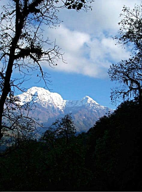 Annapurna South and Hiunchuli...
