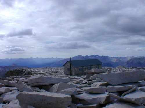 Mt. Whitney summit cabin -...