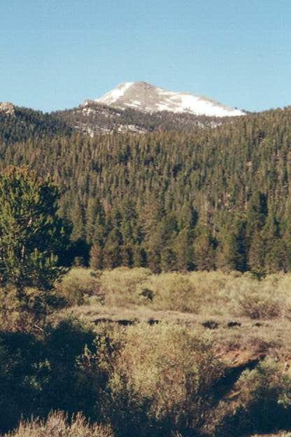 Kern Peak from the north,...
