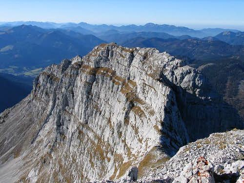 West summit of Guffert