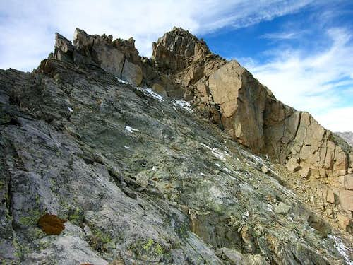 Another view of the steep and...