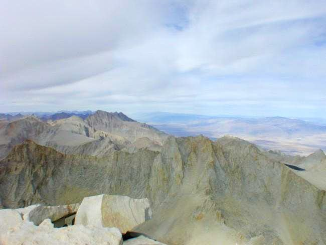 Mt. Russel from the summit of...