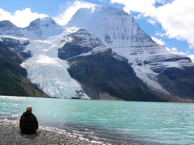 Mount Robson from Berg Lake