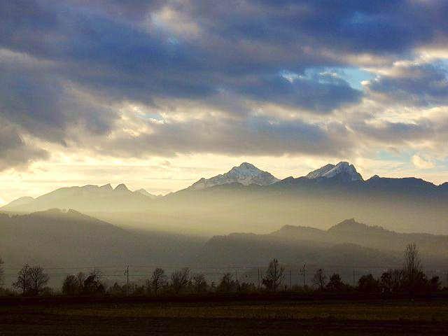 Triglav massif from east....
