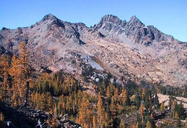 Ingalls Peaks from Headlight...
