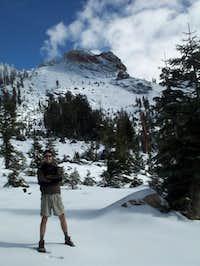 2 miles before summit