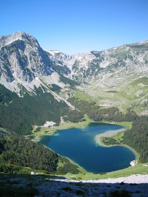 Trnovacko lake.