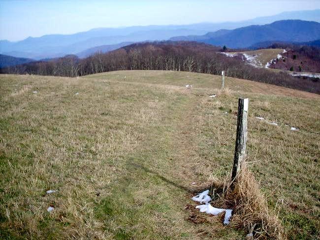 The Appalachian Trail as it...