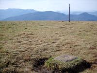 The summit of Max Patch with...