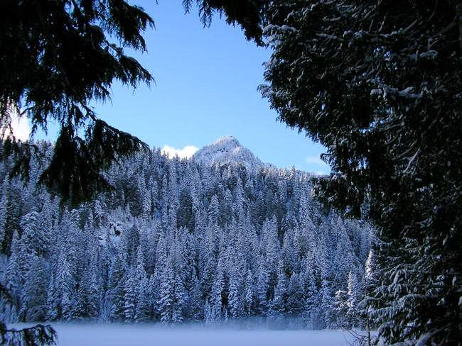 Mt Pilchuck from Bear Lake