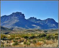 Lost Mine Peak wih its many...