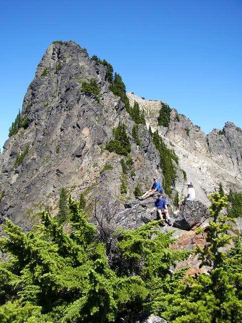 Chair Peak-Bryant Saddle