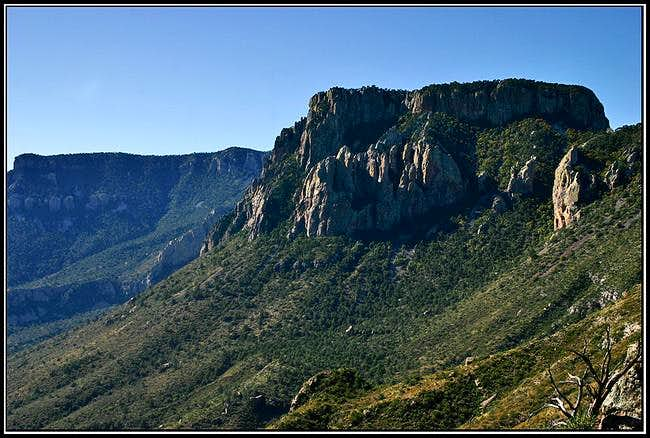 Toll Mtn and the South Rim....