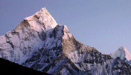 Ama Dablam sunset from Dhugla