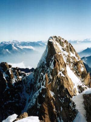 View from Aiguille du Tour on...