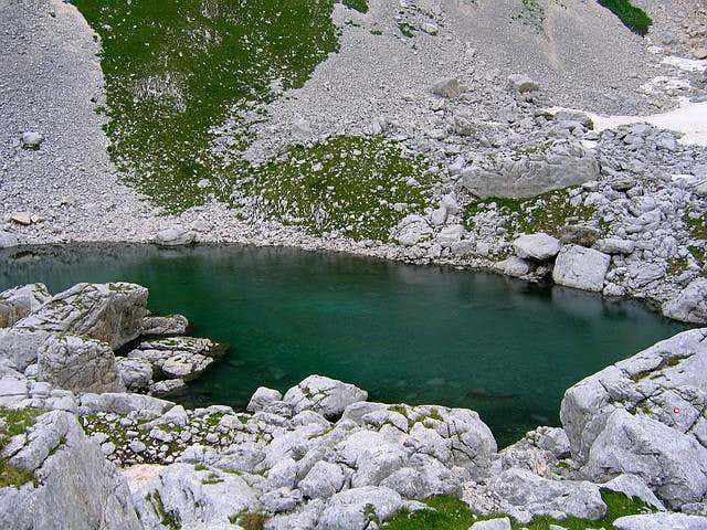 Zeleni Vir lake