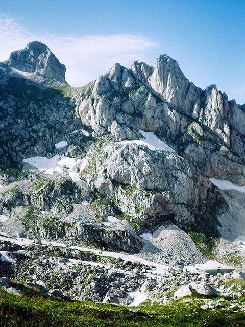 Bobotov Kuk (2523 m) and...