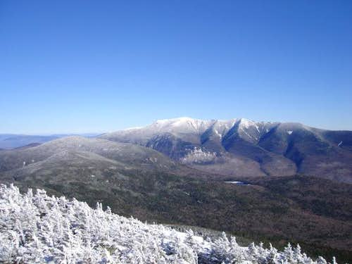 Franconia ridge from North...