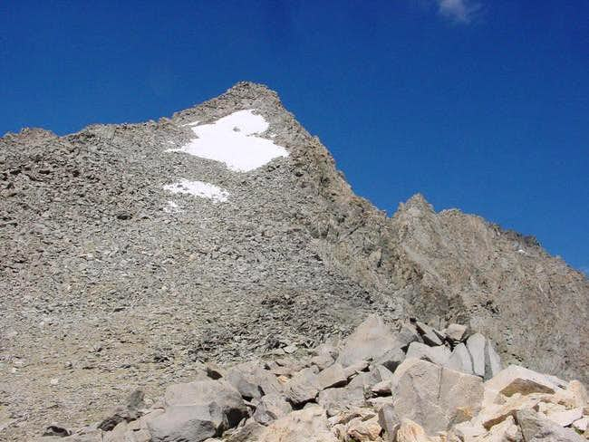 Balcony Peak from the east....