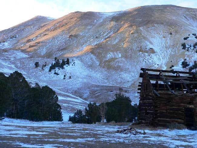 Wheeler Peak (left) from...