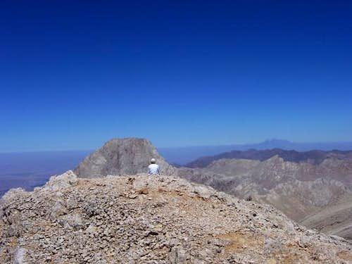 Mt Demirkazik from Emler