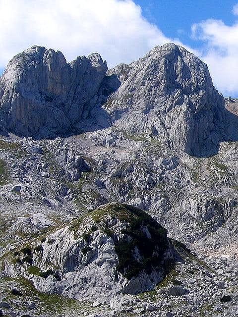 Lucin Vrh (2396 m) from...