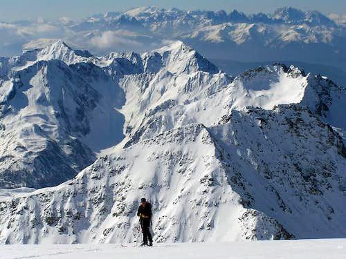 Ski tour to Hochfeiler over...
