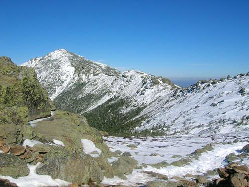 Mount Lincoln from the summit...