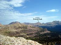 Priord Peak viewed from on...