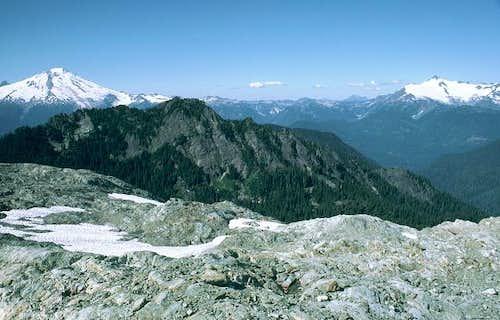 Mt. Baker and Mt. Shuksan...