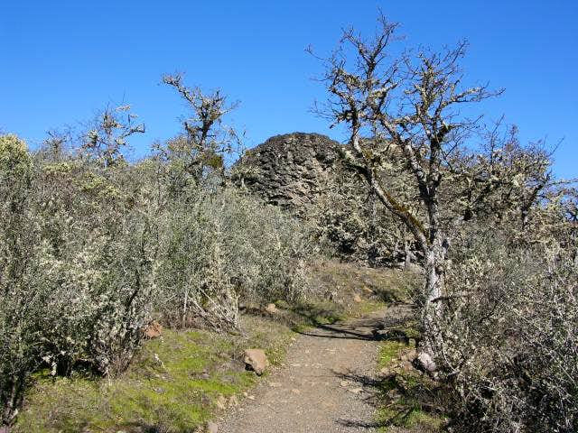 Path leading to the top of...