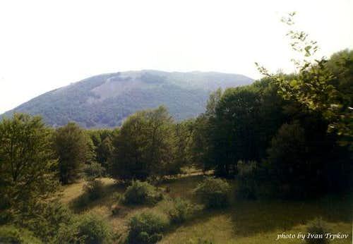 Area around the Skrka peak on...