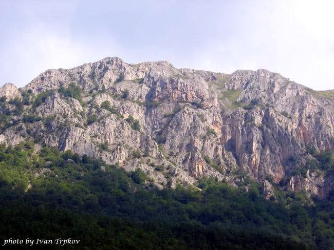 The Brzovec massif on Bistra...
