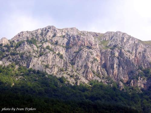 The Brzovec massif on Bistra...