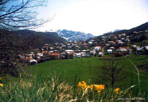 Spring in the village of...