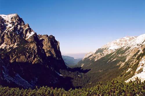Belovodska Valley from the...