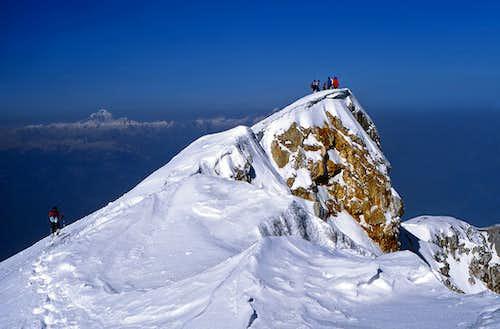 The summit of Stol